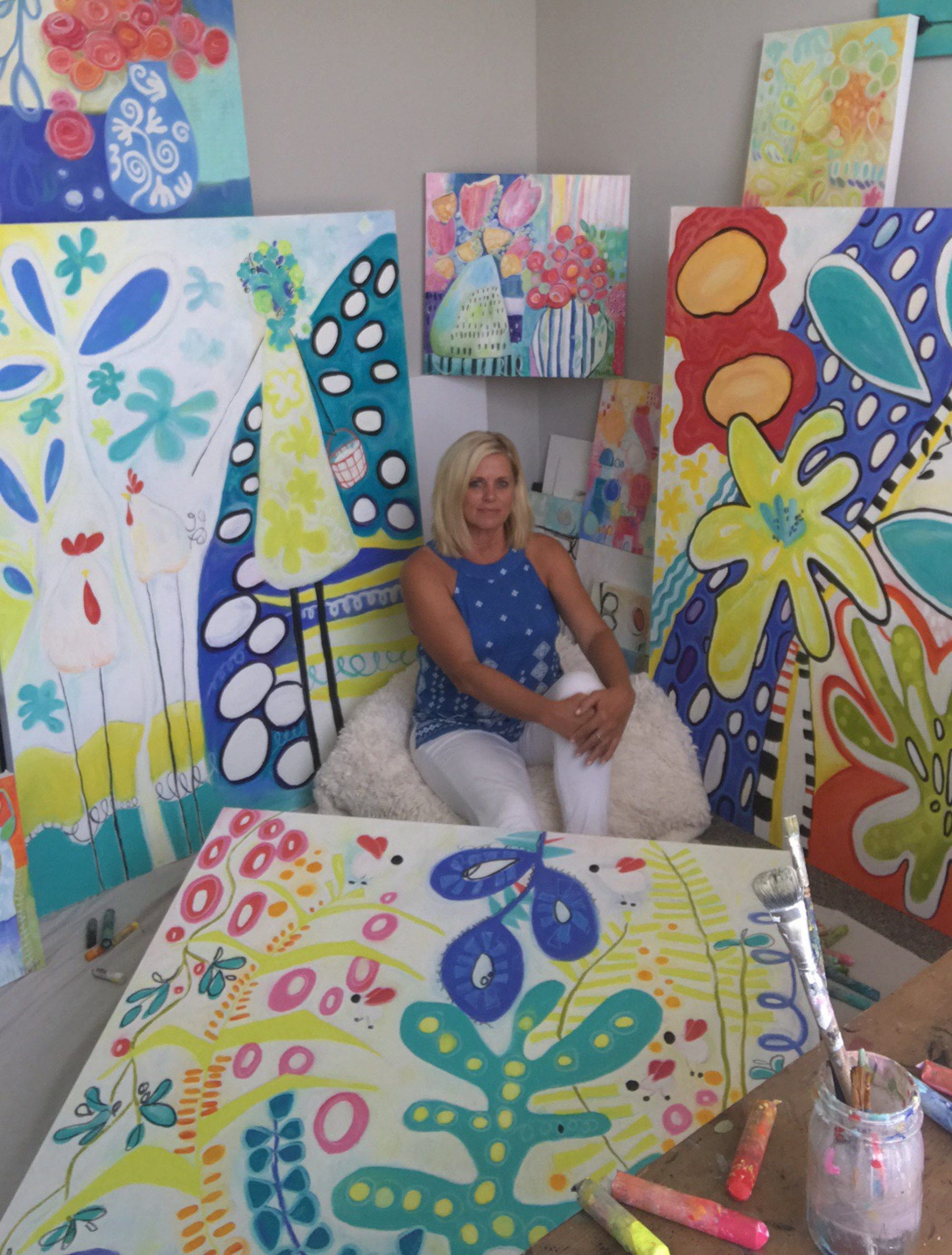 Connie Pruitt Art & Creative Spaces
